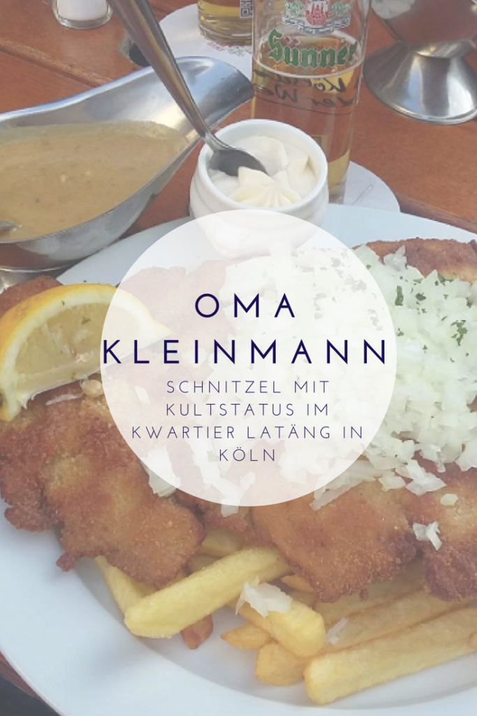 Schnitzel bei Oma Kleinmann in Köln