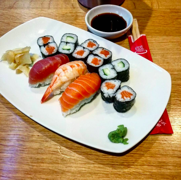 sweet sushi auf dem berlich k ln innenstadt schlemmeninkoeln restaurants caf s. Black Bedroom Furniture Sets. Home Design Ideas