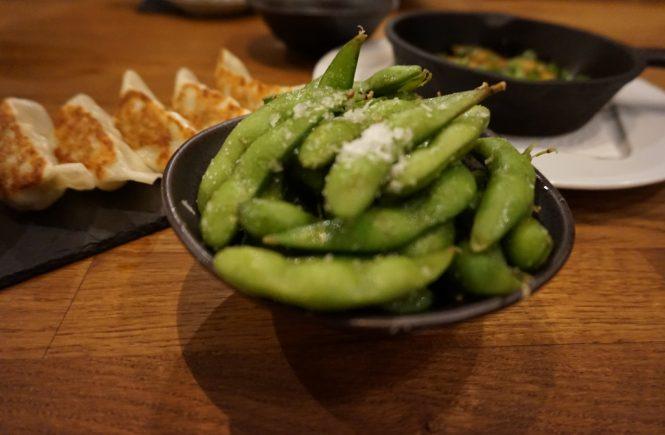 Ramen essen in Köln, Edamame, Sushi, essen gehen im belgischen Viertel