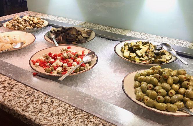 Antipasti Auswahl beim New York Meat Market