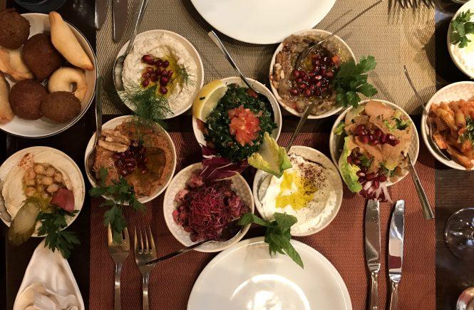 Orientalische Küche im Mauritiusviertel in Köln: Mezze